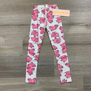 NWT Hugo loves Tiki pink elephant leggings